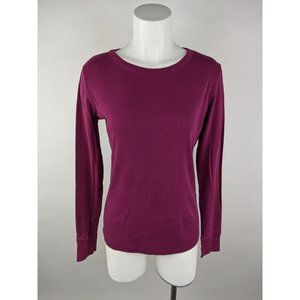 Mossimo Supply Co Solid Cotton Long T-Shirt Top